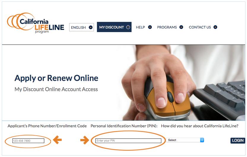 www californialifeline com renewal form CA Renew